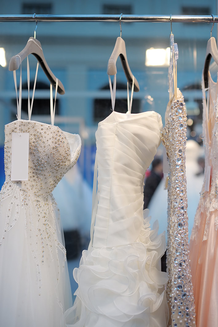 Evening and wedding dresses